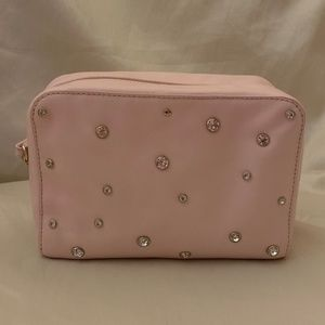 Kate Spade Crystal Cosmetic Ca-Excellent Condition